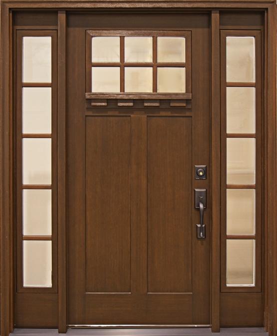 fiberglass front doors  sc 1 st  Keweenaw Overhead Door & Mission Style Fiberglass Entry Doors by Clopay | Keweenaw Overhead ... pezcame.com