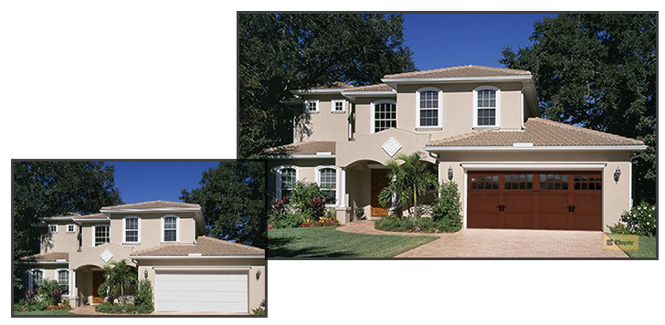 Use our design tools to choose the perfect new garage door for your home in Marquette County, Michigan.
